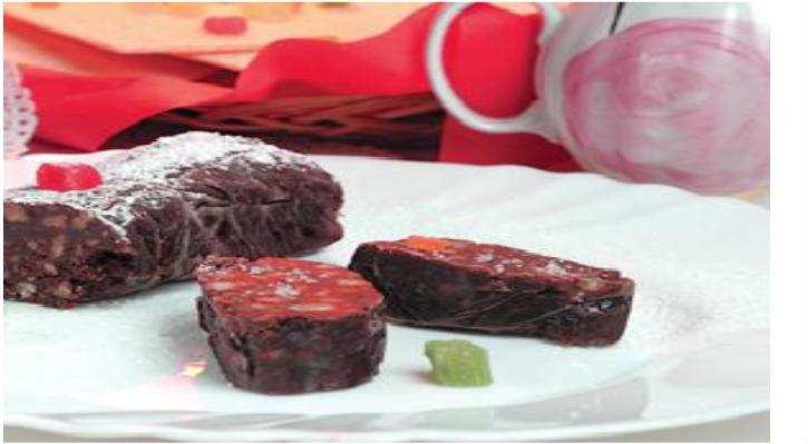 Шоколадная колбаса своими руками