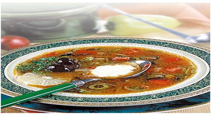 Пошаговый рецепт солянки сборной мясной