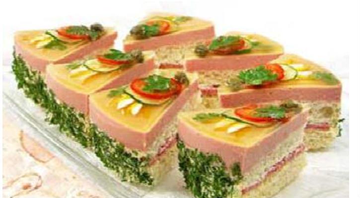 кулинария рецепты бутербродный торт